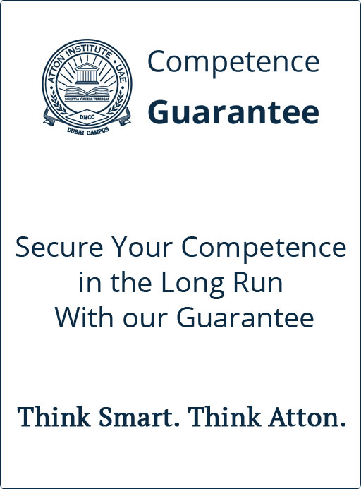 Our Competence Guarantee