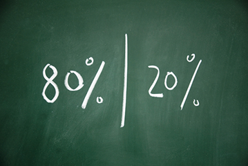 Pareto principle in Customer Service – what the 80/20 rule really means